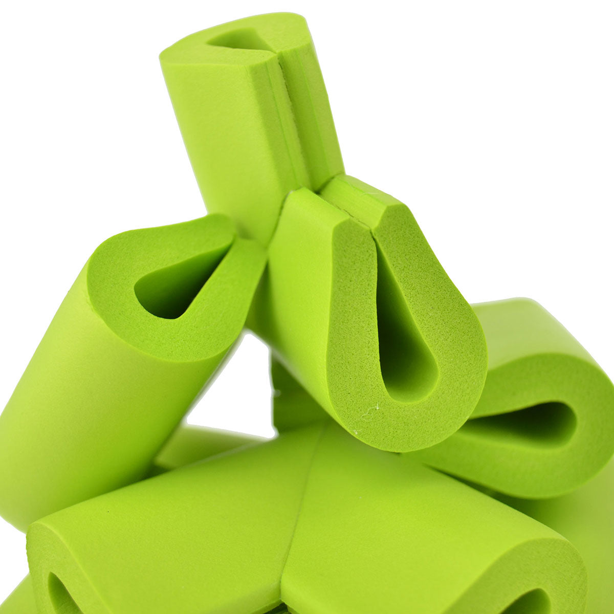 12 Pieces Green U-Shaped Foam Corner Protectors
