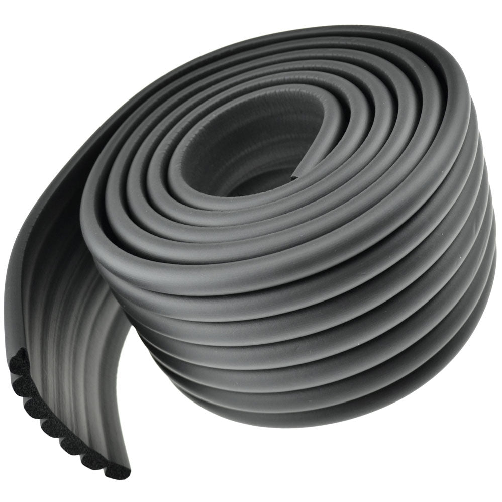 1 Roll Black Multi-Purpose Edge Protector 78.7 inches (2 meters)