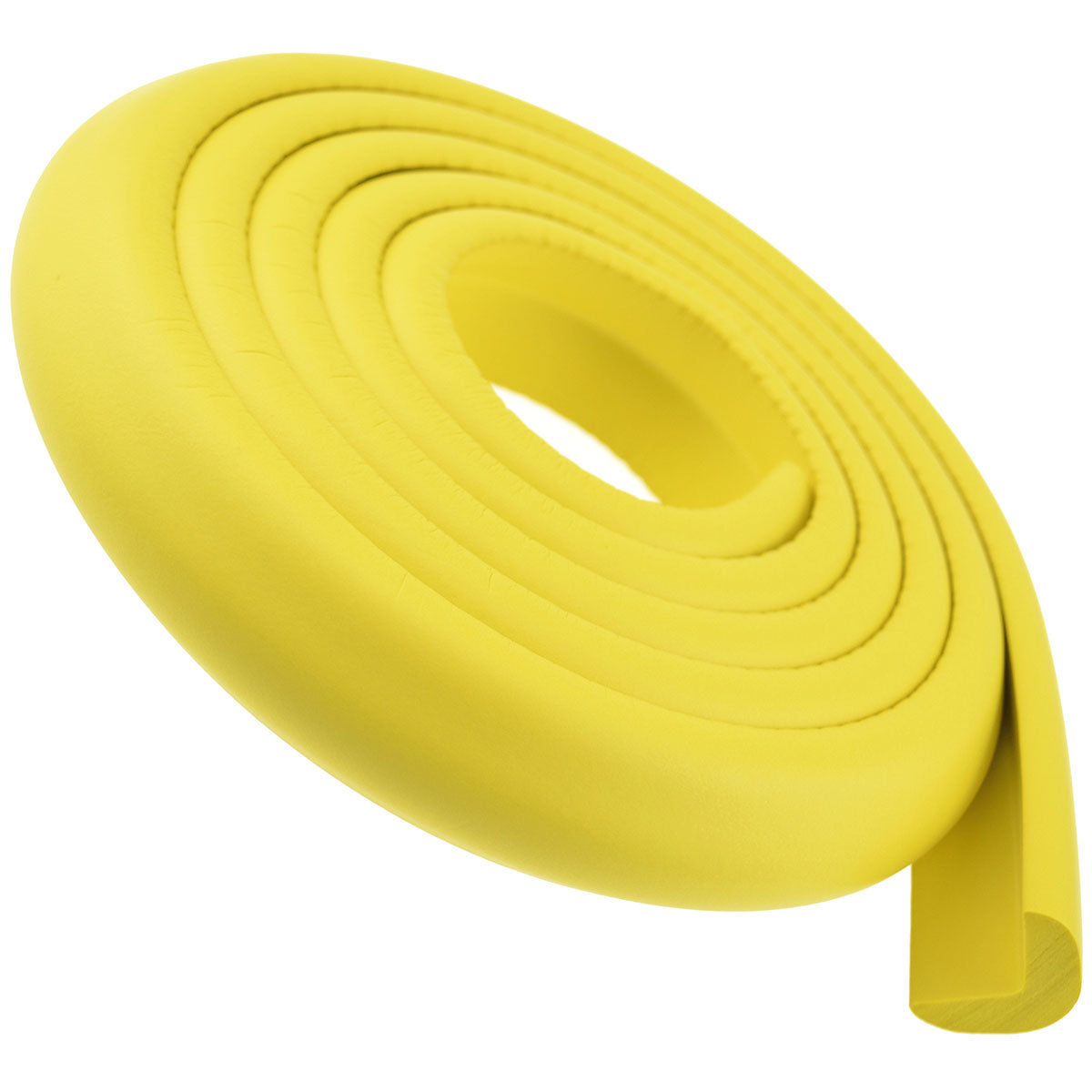 1 Roll Yellow Standard L-Shaped Foam Edge Protector 78.7 inches (2 meters)