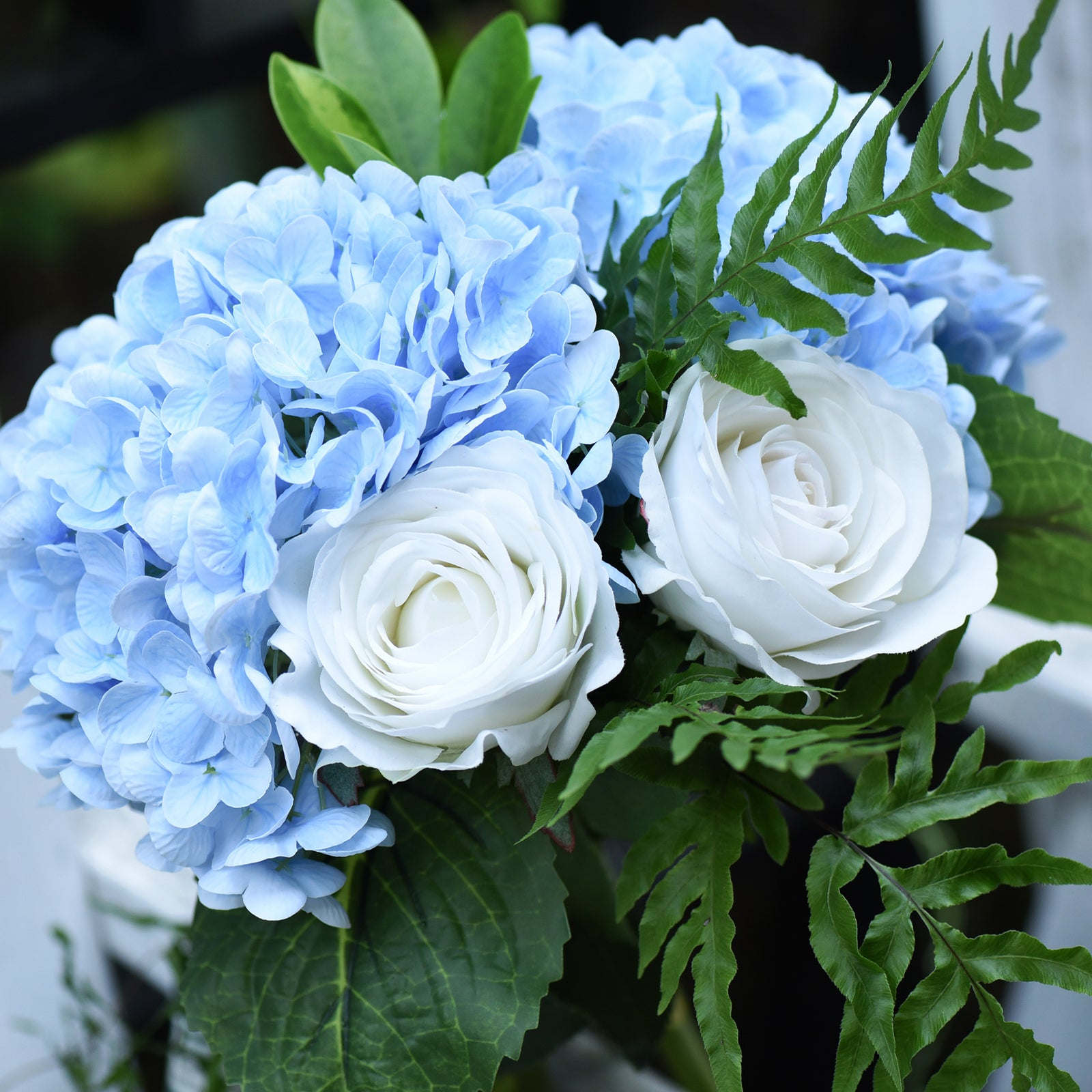 Fiveseasonstuff 2 Stems Real Touch Petals And Leaves Artificial Hydran