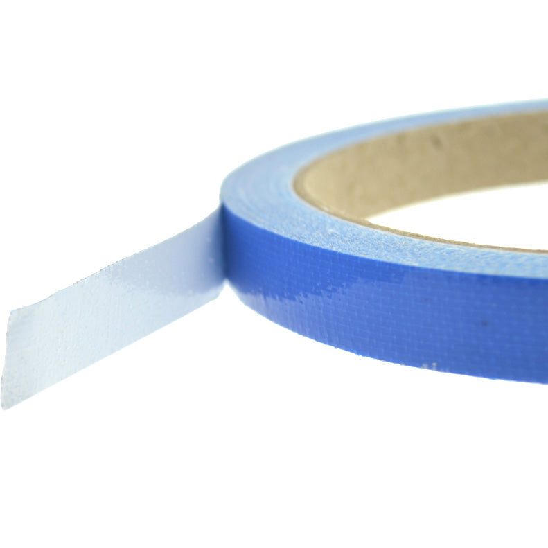 1cm (Blue) High Strength Adhesive Single Sided Duct Tape Carpet Tape, Strong Water Resistant Tape