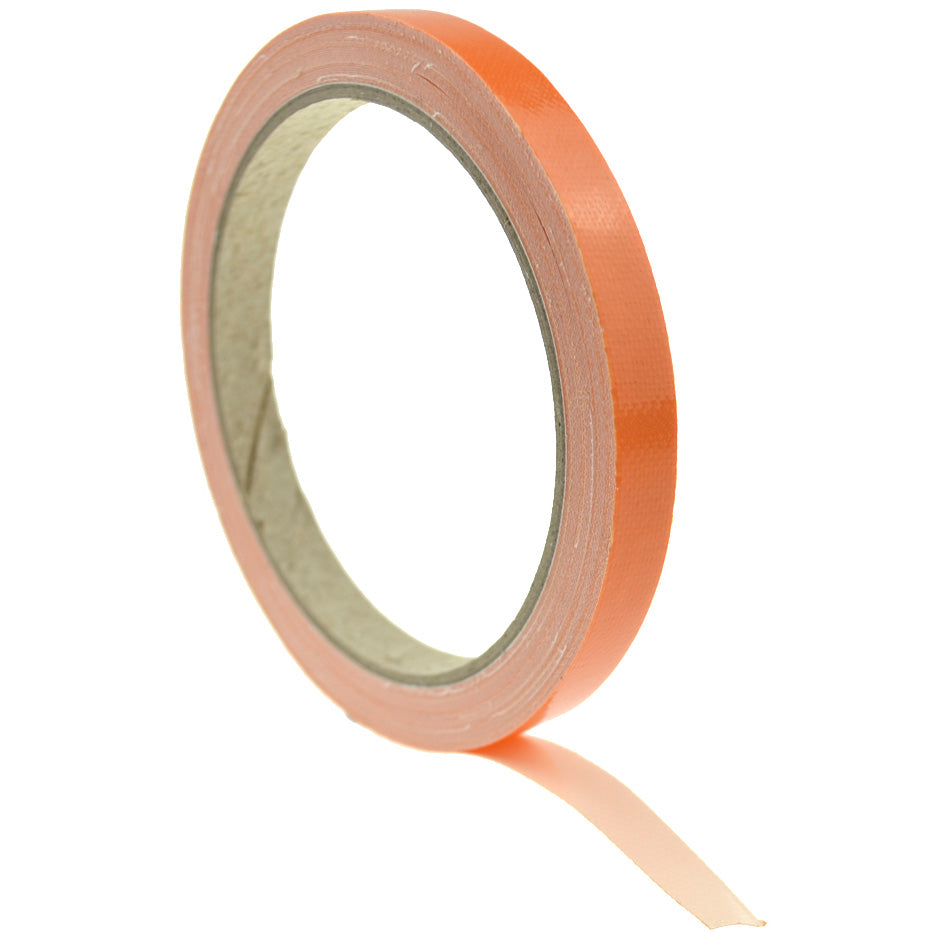 1cm (Orange) High Strength Adhesive Single Sided Duct Tape Carpet Tape, Strong Water Resistant Tape