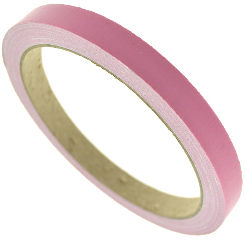 1cm (Pink) High Strength Adhesive Single Sided Duct Tape Carpet Tape, Strong Water Resistant Tape