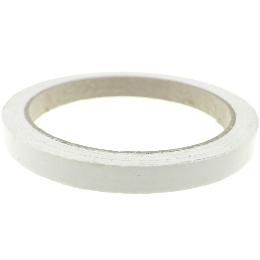 1cm (White) High Strength Adhesive Single Sided Duct Tape Carpet Tape, Strong Water Resistant Tape
