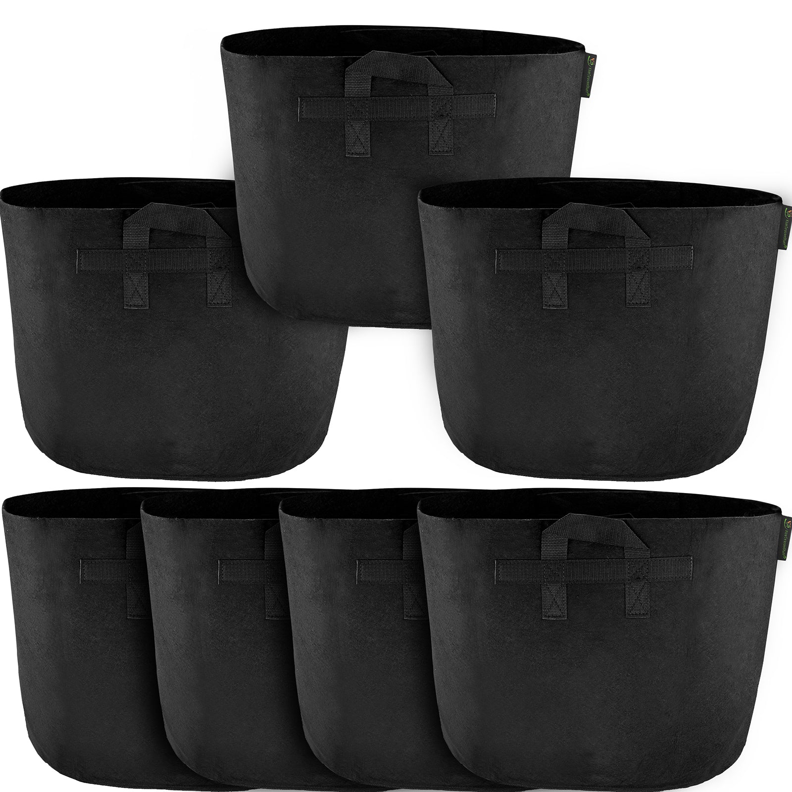 FiveSeasonStuff 8 Pack 10 Gallons Grow Bags Aeration Smart Gardening