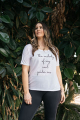The Melody Of My Soul Guides Me Affirmation Tee