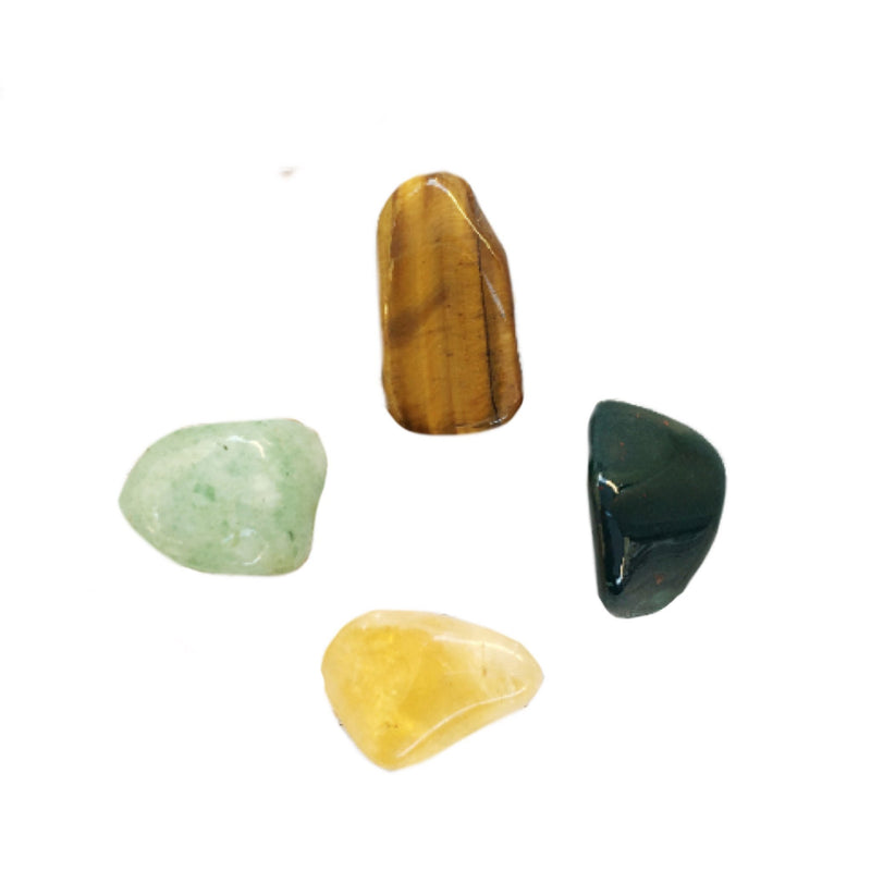 Bloodstone, Tiger Eye, Citrine & Aventurine for Success