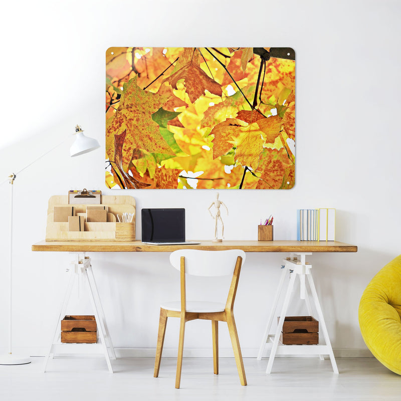 Autumn Tree - Large Magnetic Notice Board