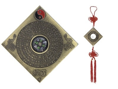 Bagua Lo Pan with Compass