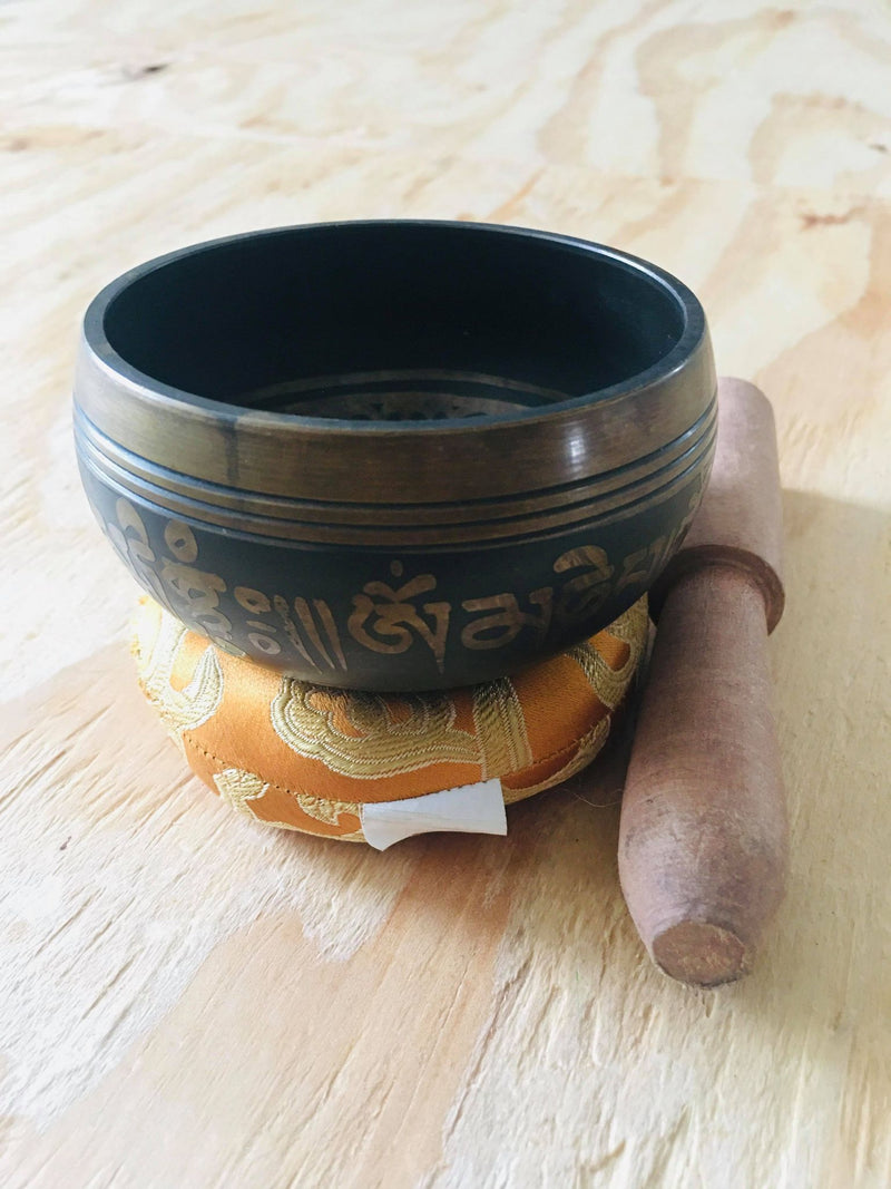 Tibetan Hand Hammering Copper Singing Bowl