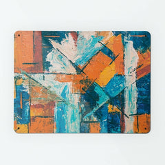 Abstract Paintings - Large Magnetic Notice Board