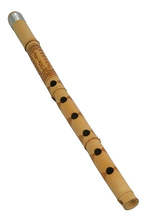 Hand-Crafted Bamboo Feng Shui Flute
