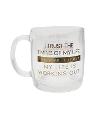 Life Works Out - Glass Mug