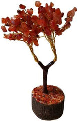 Carnelian Gemstone Tree-New Design