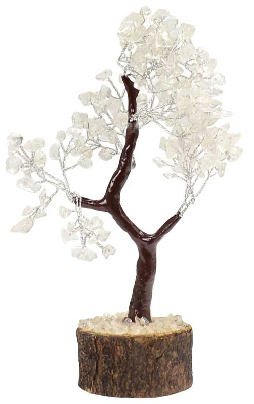 Clear Quartz Gemstone Tree-160 Beads