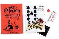 Gypsy Witch Fortune Telling Playing Card by Mlle Lenormand