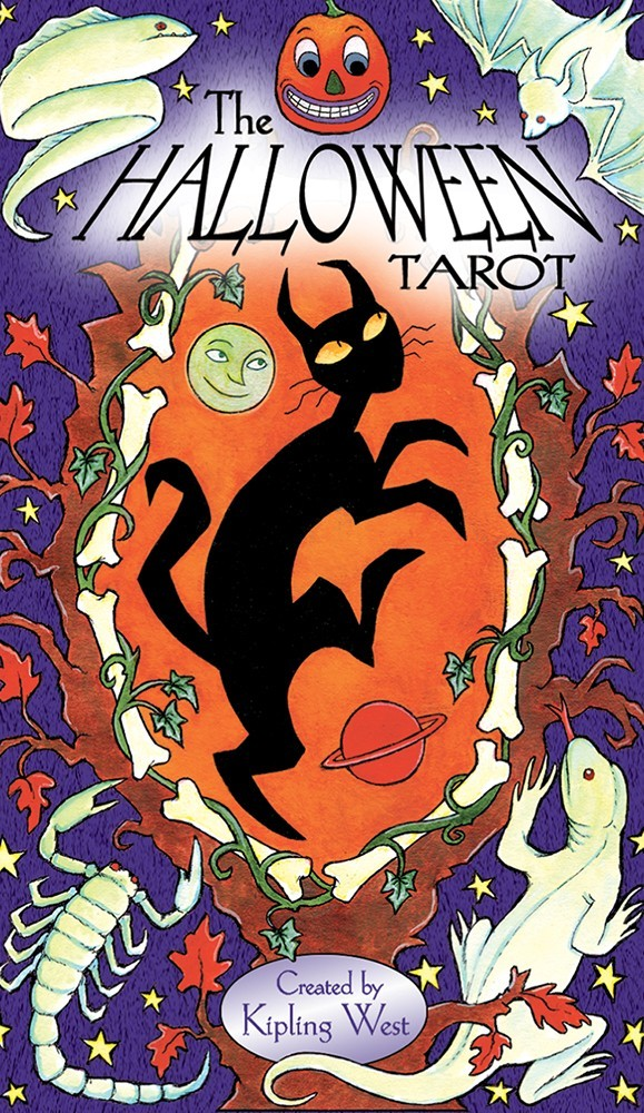 Halloween Tarot Deck by West & Kipling