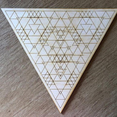 Triangle Crystal Grid