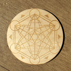Hexagon Star Crystal Grid