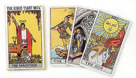 Rider Waite Mini Tarot Deck by Pamela Colman Smith