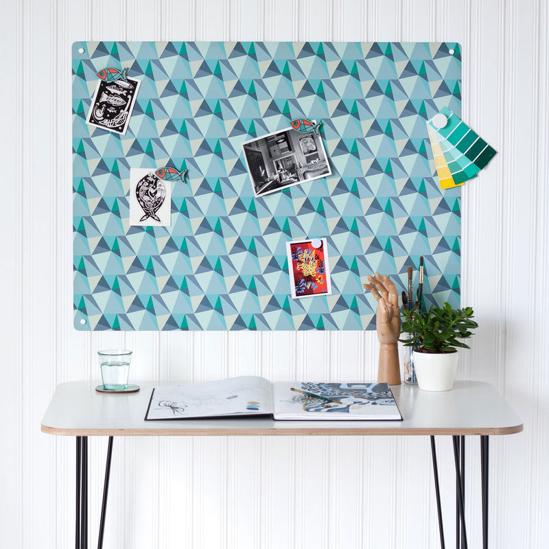 Shards Design - Large Magnetic Notice Board