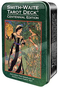 Smith-Waite Centennial Tarot Deck in Tin