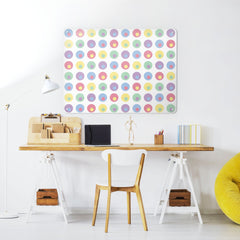 Spots - Large Magnetic Notice Board