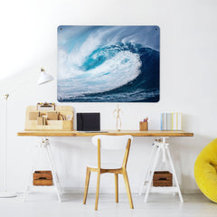Wave - Large Magnetic Notice Board