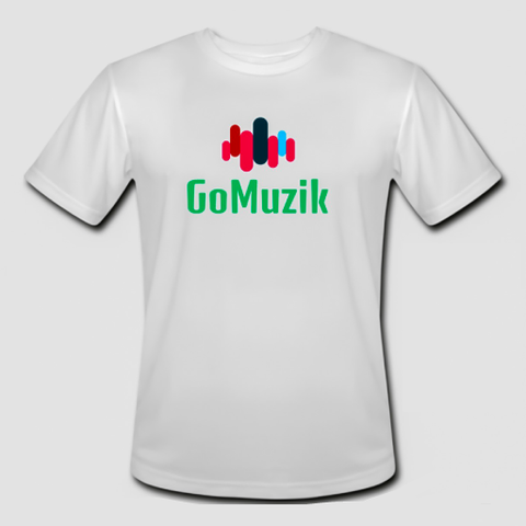 "White GoMuzik ""Founders Edition"" Tee"