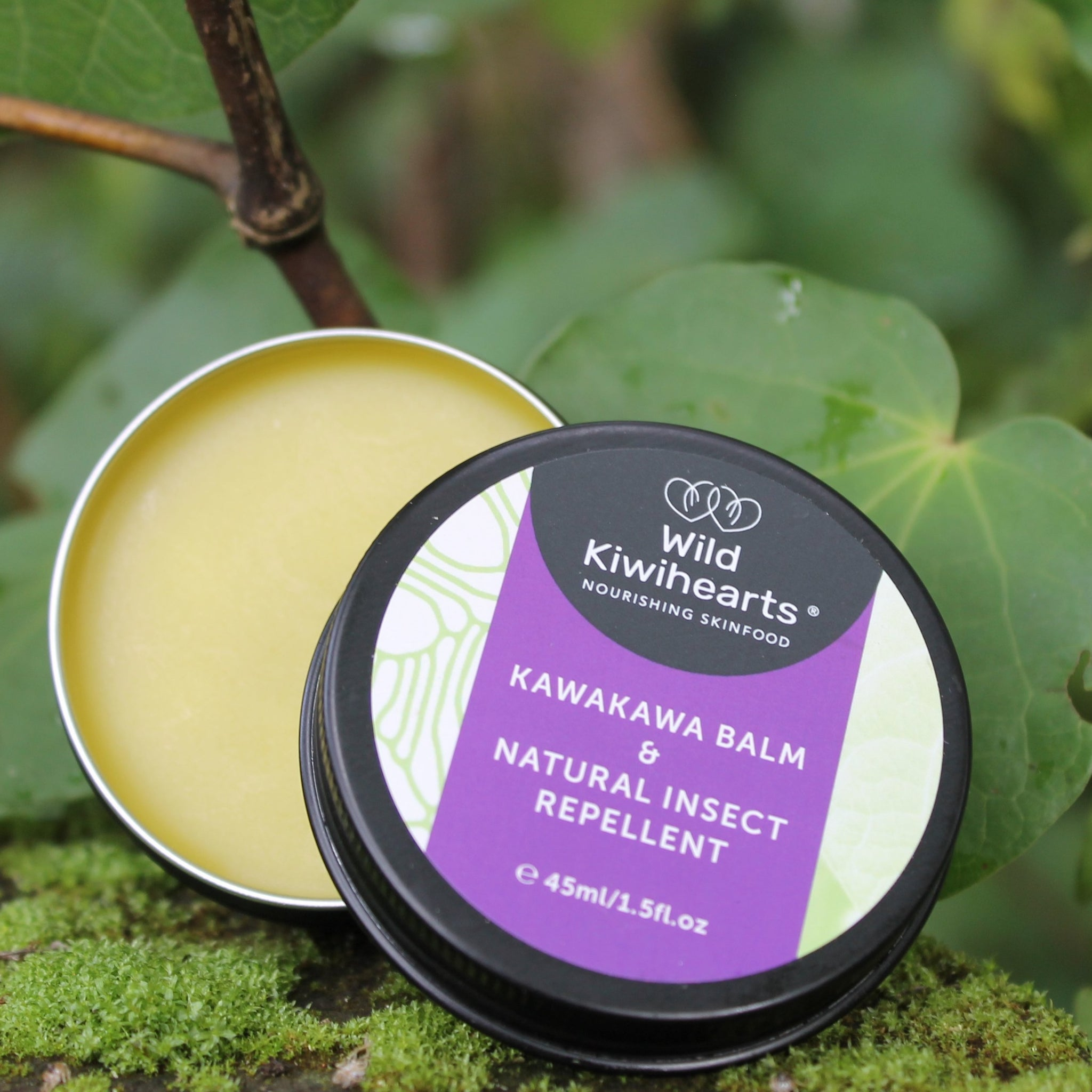 Kawakawa Balm and Natural Insect Repellent 45ml