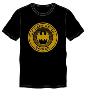 Batman Tshirt - The Dark Knight Batman Seal Black T-Shirt - poshopolis