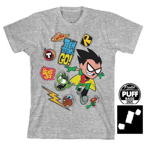 Teen Titans Go Logo TShirt for Boys