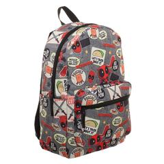 Deadpool Backpack  Marvel Deadpool Patches Backpack - poshopolis