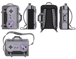 Super Nintendo Game Controller Backpack