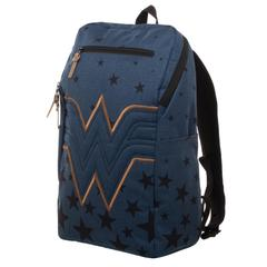Wonder Woman Backpack  Navy Blue Backpack w/ Wonder Woman Logo