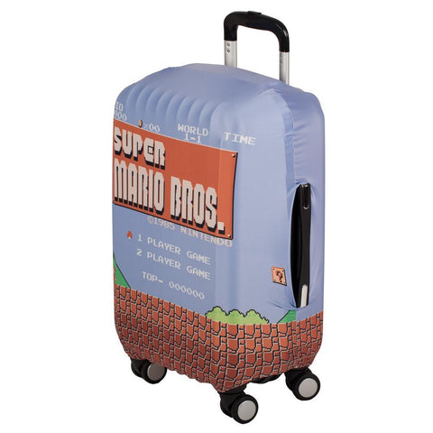 mario brothers luggage cover