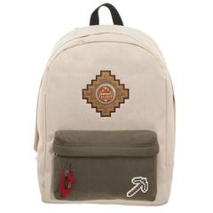 Minecraft Backpack Beige Explorer Bag - poshopolis
