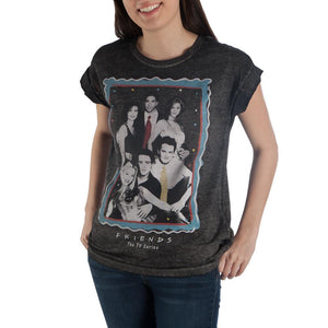 Friends Rolled Sleeve T-shirt