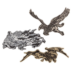 Harry Potter Creatures Lapel Pins Harry Potter Accessories Harry Potter Pins - Harry Potter Lapel Pins Harry Potter Gift