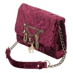 Harry Potter Back To Hogwarts Quilted Embellished Handbag - poshopolis