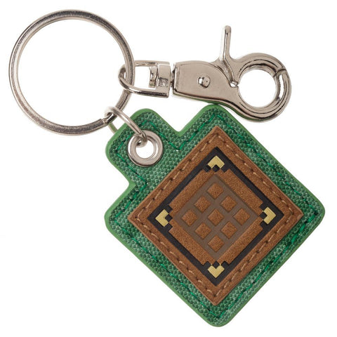 Crafting Table Minecraft Keychain