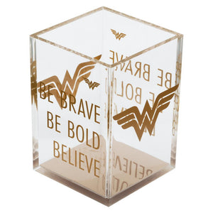 Wonder Woman Pencil Holder Wonder Woman Office Wonder Woman Desk Accessories Wonder Woman Gift Wonder Woman Accessories