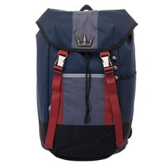 Kingdom Hearts Backpack  Navy Blue, Red, and Grey Gamer Backpack - poshopolis