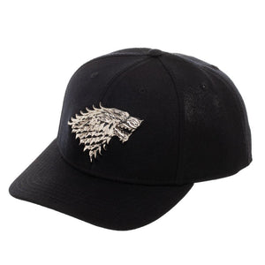 Game Of Thrones House Stark Direwolf Logo Snapback