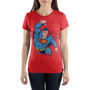 Superman In Flight Flying T-shirt