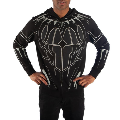 Black Panther Cosplay Black Panther Hoodie