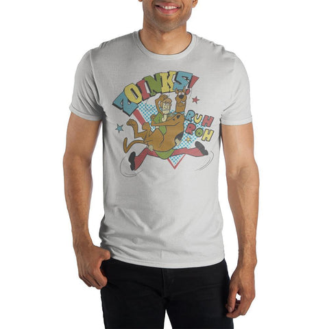 Scooby Doo Zoinks Specialty Soft Hand Print T Shirt For Men