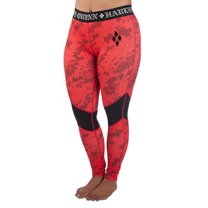 Women's Harley Quinn Full Length Active Leggings