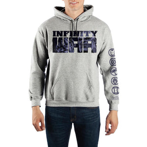 Marvel The Avengers: Infinity War Hooded Sweatshirt