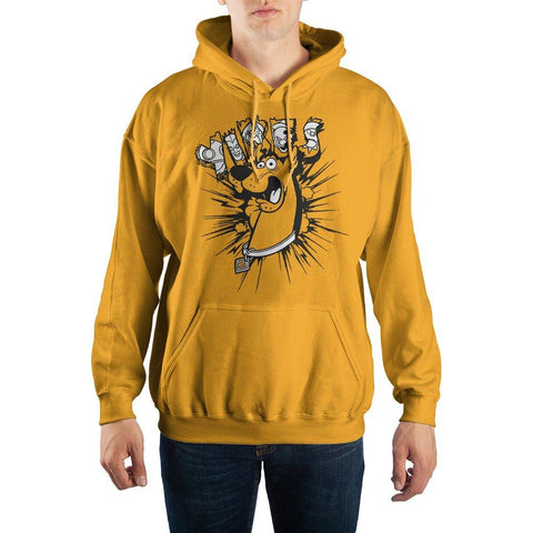 Scooby Doo ?Yikes? Pullover Hooded Sweatshirt